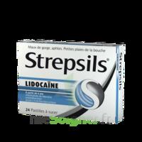 Strepsils lidocaïne Pastilles Plq/24 à Marseille