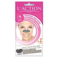 L'Action Patch sébum charbon 1 Sachet à Marseille