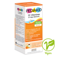 Pédiakid 22 Vitamines et Oligo-Eléments Sirop abricot orange 125ml à Marseille