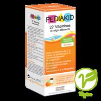 Pédiakid 22 Vitamines Et Oligo-eléments Sirop Abricot Orange 125ml à Marseille