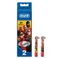 Oral B Incredibles 2 Brossette kids Blister/2 à Marseille