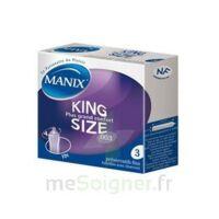 Manix King Size Préservatif avec réservoir lubrifié confort B/3 à Marseille