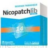 NICOPATCHLIB 14 mg/24 h Dispositifs transdermiques B/28 à Marseille