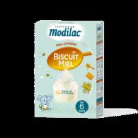 Modilac Céréales Farine Biscuit miel à partir de 6 mois B/300g à Marseille