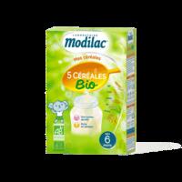 Modilac Céréales Farine 5 Céréales bio à partir de 6 mois B/230g à Marseille