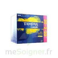 Tampax Compak - Tampon Régulier à Marseille