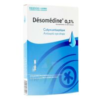 DESOMEDINE 0,1 % Collyre sol 10Fl/0,6ml