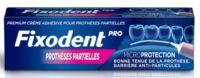 Fixodent Pro Crème adhésive pour prothèse partielle T/40g à Marseille