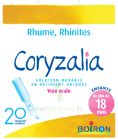 Boiron Coryzalia Solution buvable unidose B/20 à Marseille