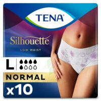 Tena Lady Silhouette Slip Absorbant Blanc Normal Large Paquet/10 à Marseille