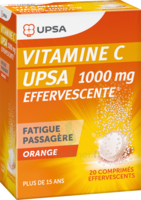 Vitamine C Upsa Effervescente 1000 Mg, Comprimé Effervescent à Marseille