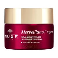 Nuxe Merveillance Expert Crème Nuit Rides installées et Fermeté Pot/50ml à Marseille